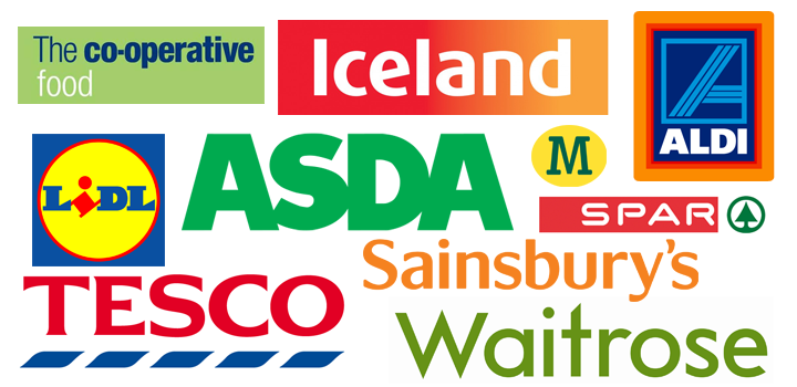 top uk supermarkets
