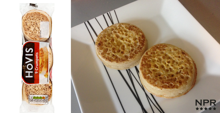 hovis crumpets review