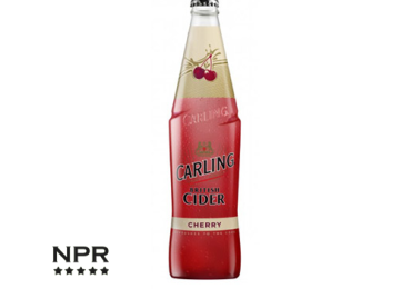 carling cider cherry 500ml review
