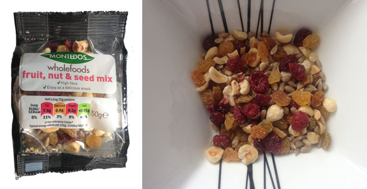 lidl new fruit and nut mix