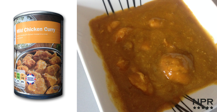 review lidls new chicken curry sauce with chicken bits