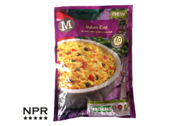 new product reviews-morrisons indian rice