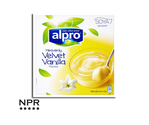 Alpro Soya Heavenly Velvet Vanilla Dessert Review New