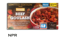 Iceland Beef Ghoulash Ready Meal Review
