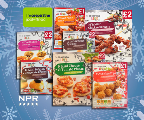 Co Operative Party Snacks Christmas 2014 New Product