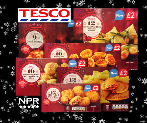 Tesco Party New Party Snacks Reviewed 2014 New Product