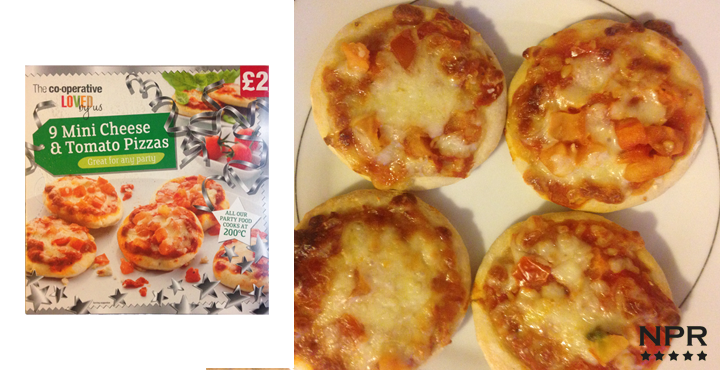 Co Op Mini Pizzas Review New Product Reviews New