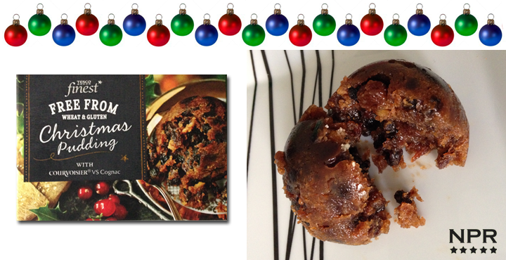 tesco finest wheat free christmas pudding