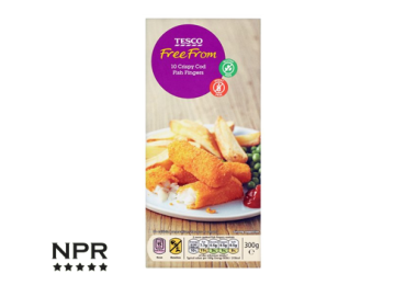 cheapest gluten free fish fingers