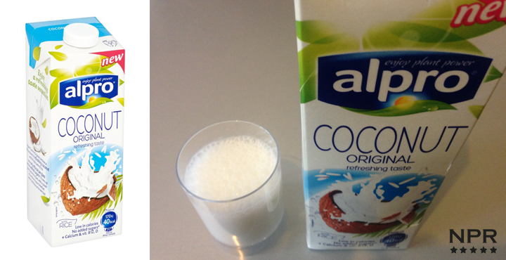 Alpro coconut rice milk review new product reviews new for Alpro coconut cuisine
