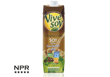 cappuccino soy drink review