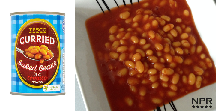 Tesco Curried Baked Beans Review New Product Reviews New