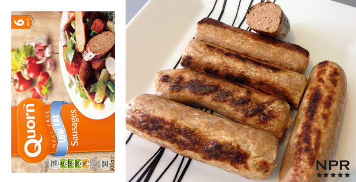 Quorn meat free sausages review