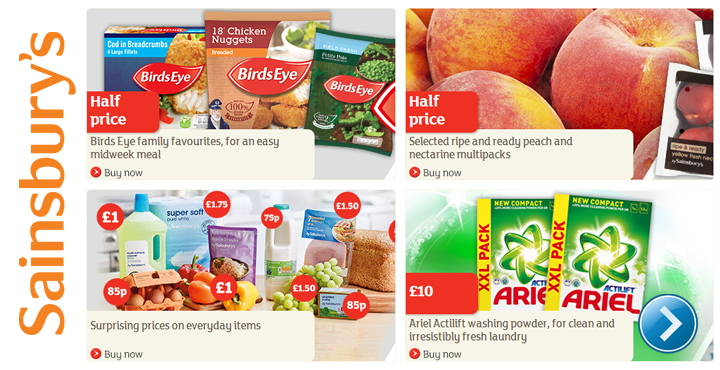 Sainsburys special offers