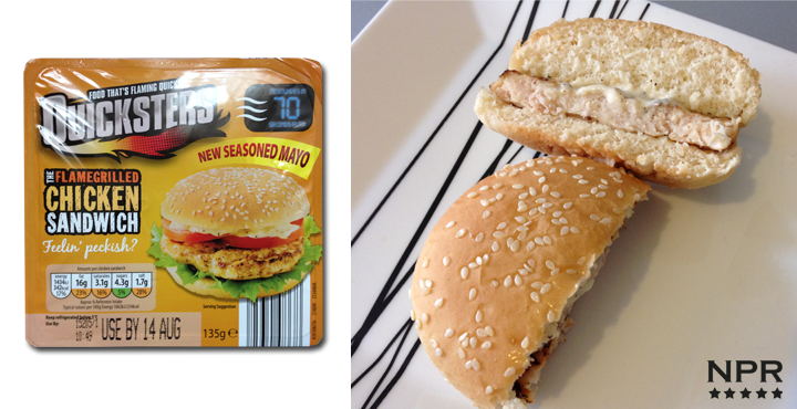 Quicksters Microwave Snacks Review Burger