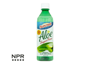 new supermarket products - aloe drinks