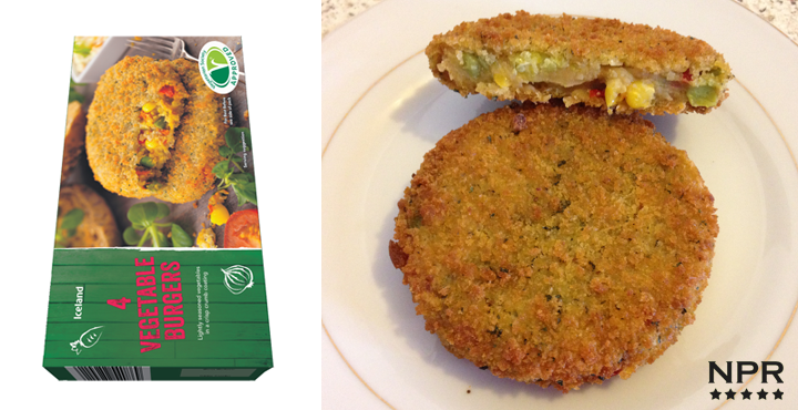 Iceland veggie burgers 4 pack review