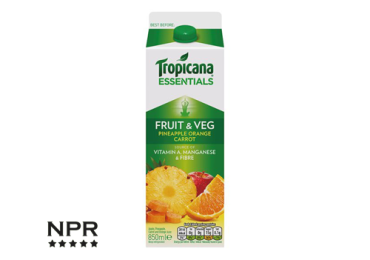 new Tropicana juice flavours reviewed
