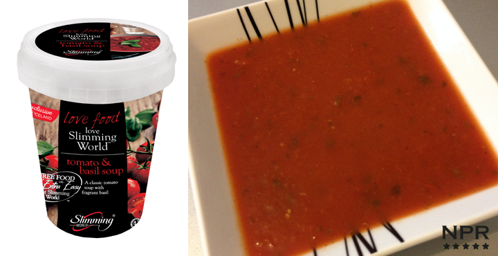Iceland Slimming World Tomato Basil Soup Review New Product Reviews New Supermarket Products