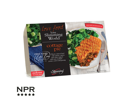 Iceland Slimming World Cottage Pie Review New Product