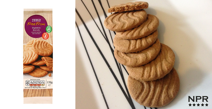 Tesco Gluten Free Digestive Biscuits Review New Product