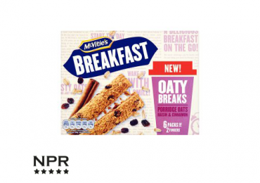 new product reviews - breakfast bars