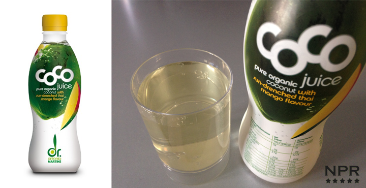 Coconut water drinks tested UK