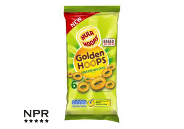 Sour cream and chive hula hoops