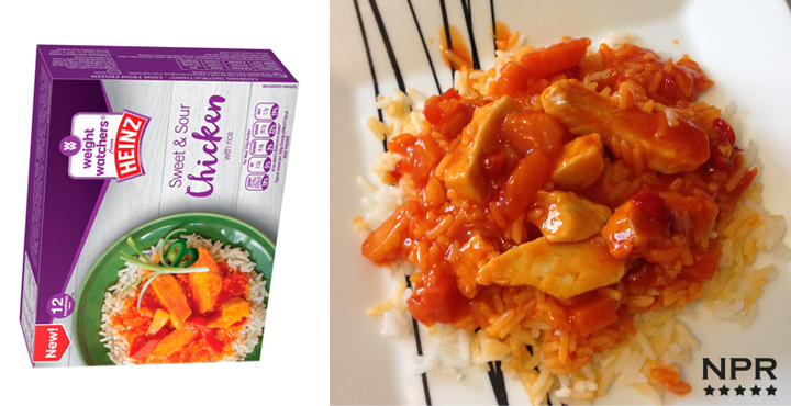 Weight Watchers ready meal review