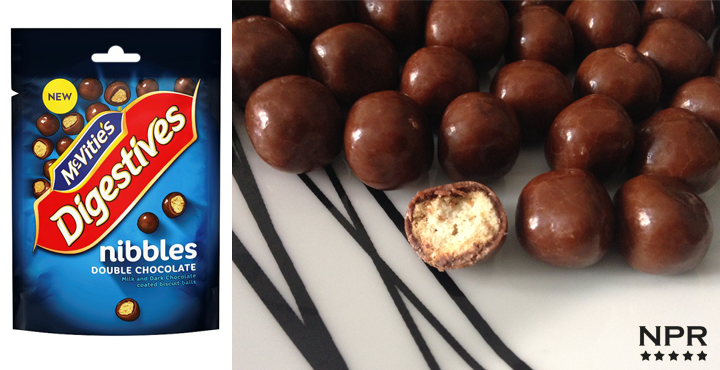 Digestive nibbles double choc review