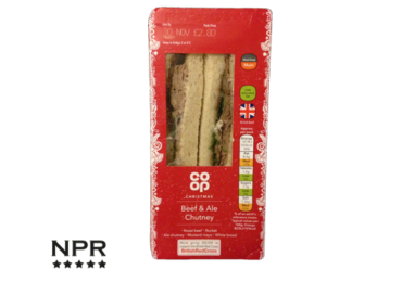 New Cproduct reviews - Festive sandwich