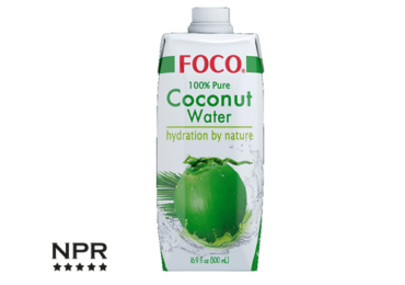 newproductreviews - coconut water