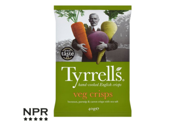 new vegetable crisps