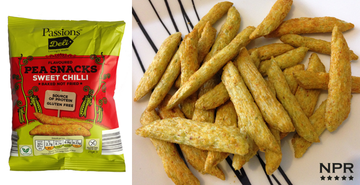 Aldi Sweet Chilli Pea Snacks Review - New Product Reviews - New