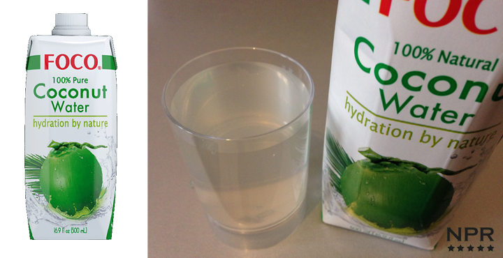 coconut water drink reviews