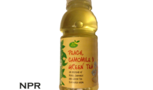 Aldi Peach, Camomile & Green Tea Drink Review