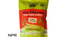 Aldi Pea Snacks Thai Red Curry Review