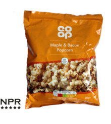 Co-op Maple & Bacon Popcorn Review