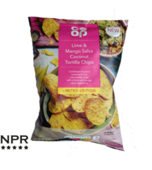 Co-op Lime & Mango Salsa Coconut Tortilla Chips Review