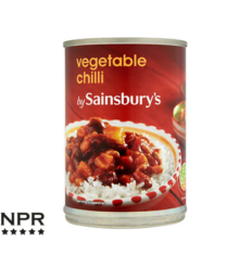 Sainsbury's Tinned Vegetable Chilli Review
