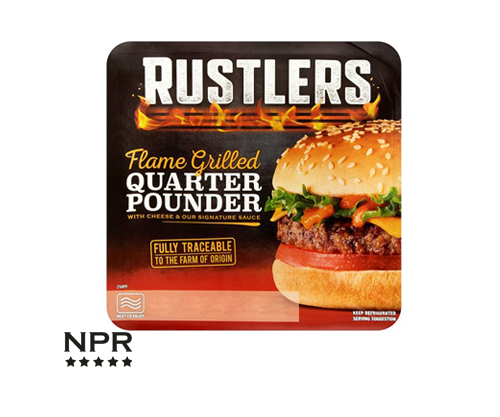 Rustlers Flame Grilled Quarter Pounder Review New