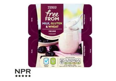Tesco free from milk yogurt reviews