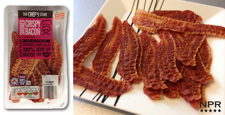 Aldi crispy bacon review