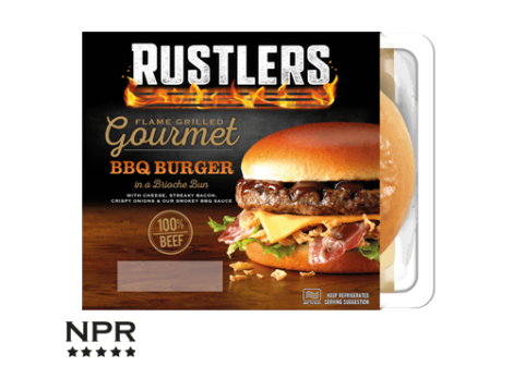 New Rustlers burger review