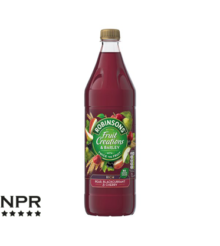 Robinsons Fruit Creations Pear Blackcurrant Cherry Squash Review
